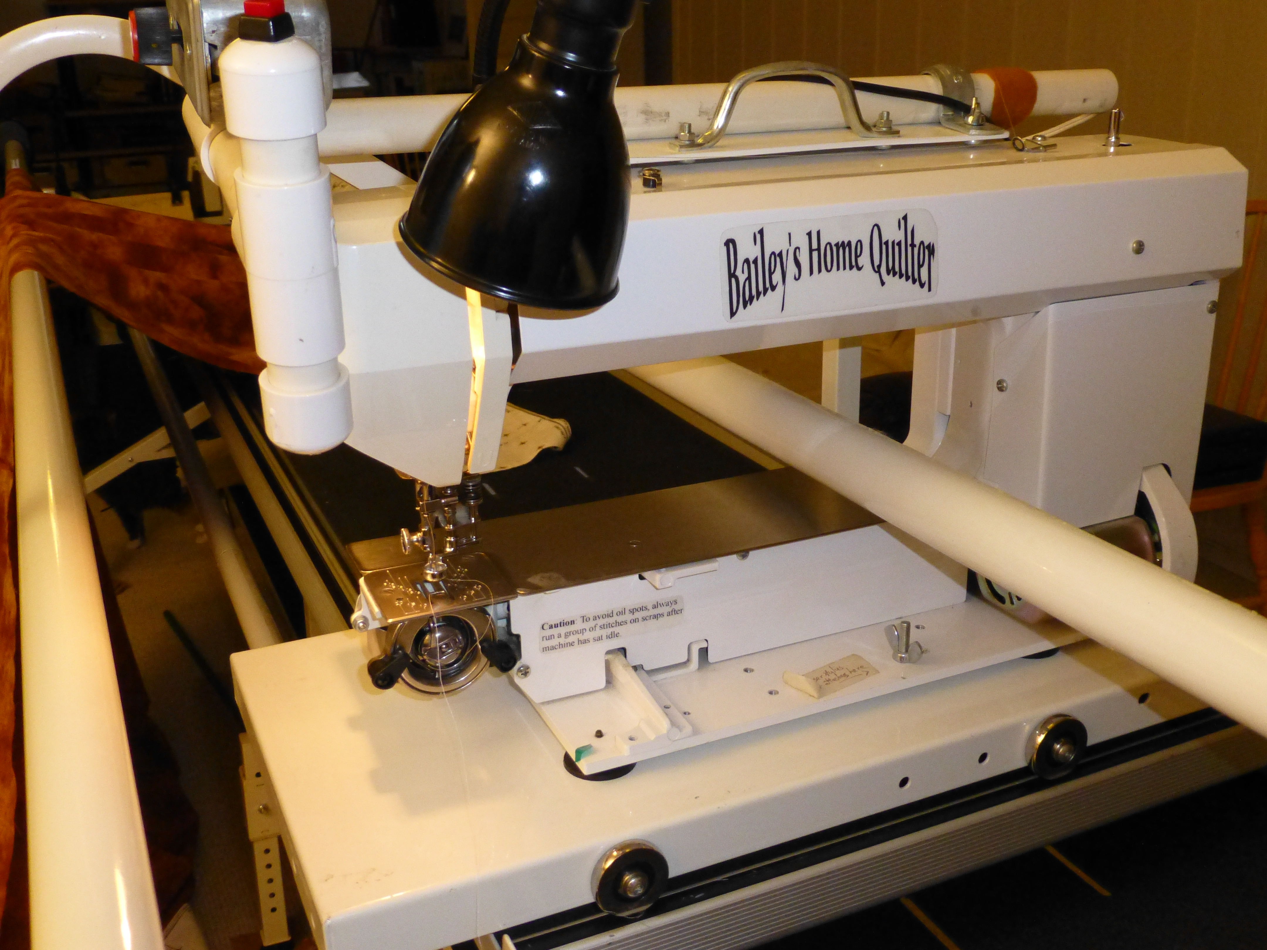 Know Thy Machine | wanderingquilter : baileys quilting machine - Adamdwight.com